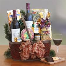 sending wine as a gift 30 best christmas gifts galore lois la baskets images