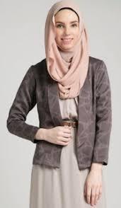 blazer wanita muslimah modern 18 baju kerja untuk wanita muslim berjilbab desain modern model
