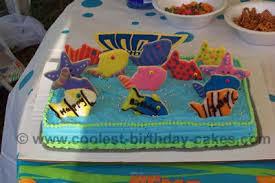 fish birthday cakes coolest fish cake ideas for your best birthday cake