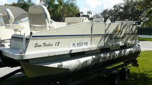 fiesta sunray fish u0027n fun pontoon 2010 for sale for 5 000 boats