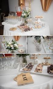 Bridal Shower Decor by Gold Bridal Shower Brunch U2022 Bummed Bride