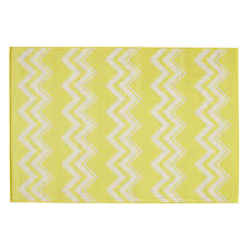 Yellow Outdoor Rug Lataia Polypropylene Outdoor Rug In Yellow 160 X 230cm Maisons