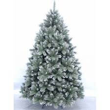 frosted christmas tree new hshire pine christmas tree blue green frosted 2 28m