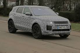 french land rover new 2019 range rover evoque spied with velar inspiration auto