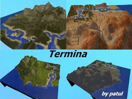 termina map mod the sims termina from by request