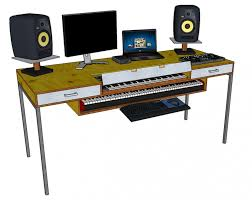 Studio Desk Diy Home Studio Desk Design Guide Diy Production From Ikea Parts