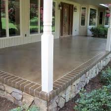 Concrete Stain Colors For Patios 15 Diy How To Make Your Backyard Awesome Ideas 14 Concrete Porch