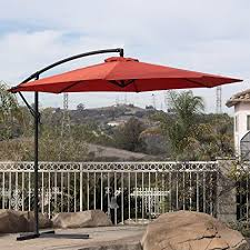 Commercial Patio Umbrella Belleze Commercial Patio Umbrella 10 Patio Tilt W