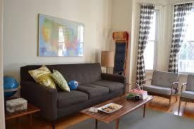 vintage modern living room get the look andy andrew s vintage modern living room