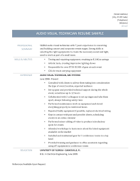 Ndt Technician Resume Example by Av Tech Resume Free Resume Example And Writing Download