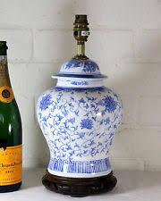 Oriental Table Lamps Uk Ginger Jar Lamp Ebay