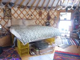 how to raise a bed bunk bed the yurt is born