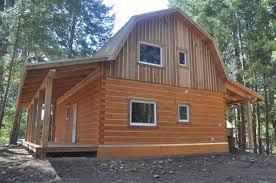 barn gambrel style ecolog on vancouver island barn style ecolog front view barn style ecolog back side