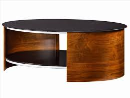 furniture oval glass coffee table for living room coffee tables