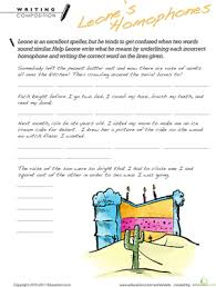 homophone worksheets 2nd grade education com