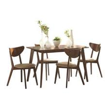 midcentury modern dining room sets houzz