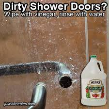 how to clean shower glass doors with vinegar resources archives julie u0027s freebies