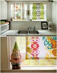 kitchen curtain ideas diy 20 and easy diy curtain ideas to dress up your windows
