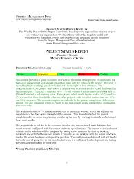 weekly report templates project status report template 3 free templates in pdf word weekly project status report template