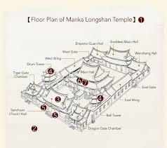 manka longshan temple taiwan religious culture map 臺灣宗教百景