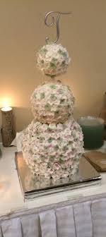 cake pop wedding cake hydrangea cake pop topiary wedding cake cakecentral