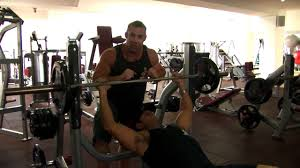 Barbell Bench Press Technique Incline Barbell Bench Press Technique Youtube