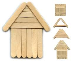 how to diy popsicle stick house popsicle stick houses smallest