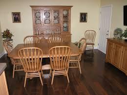 my new brazilian ebony hardwood floor and amish dining room my new brazilian ebony hardwood floor and amish dining room furniture love it