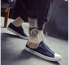 Comfortable Canvas Sneakers 2017 New Spring Casual Shoes Men Flats Comfortable Breathable