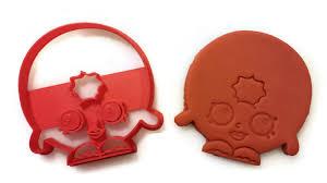 shopkins halloween background shopkins dlish donut d u0027lish donut cookie cutter fondant cutter