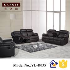 Reclining Sofa Manufacturers Yilin Furniture Manufacturer Genuine Leather Living Room 1 2 3