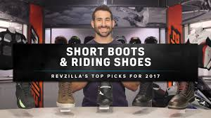 best street bike boots best motorcycle shoes and short riding boots 2017 at revzilla com