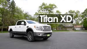 cummins nissan titan 2016 nissan titan xd review test drive cummins diesel