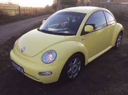 2001 vw volkswagen beetle yellow 2 0 girly project mot cheap