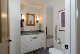 Narrow Powder Room Everyday Solutions Tiny Powder Room Is Expanded Into Full
