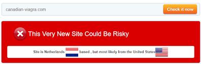 canadian viagra com review a suspicious affiliated site without