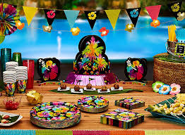 party ideas luau party ideas party city party city
