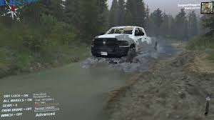 jeep stuck in mud meme mudding with the ram 2500hd cummins how to play spintires