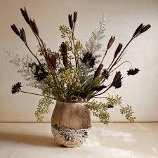 Life Of A Flower - a flower arrangement inspired by a wintry landscape wsj