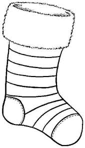 6 images christmas stocking coloring pages printable