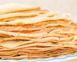 cuisine az crepes recette pâte à crêpes légères