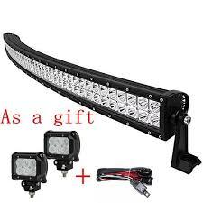 led work lights for trucks easynew 20 inch 120w 10 30v curved led light bar waterproof flood