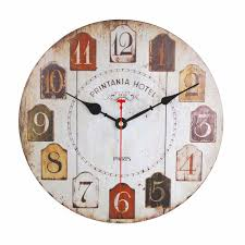 Wooden Wall Clock Online Get Cheap Cherry Wood Wall Clocks Aliexpress Com Alibaba