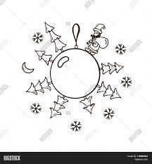 merry christmas ball ornaments vector u0026 photo bigstock
