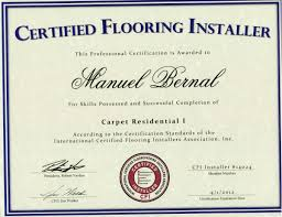 our certifications s w contractors inc