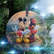 trend setters disney kinkade mickey and minnie sweetheart