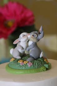 wedding cake ornament thumper and miss bunny disney cake topper wedding weddingcake