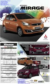 mitsubishi mirage sedan price mirage promo