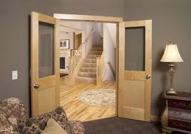 Interior Doors With Glass Panel Wood Glass Panel Interior Doors
