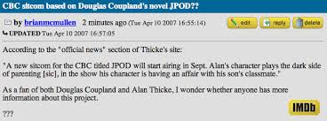 what happened to imdb message boards crude futures some stuff alan thicke is up to